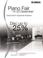 Brosur Piano Fair by petkanna