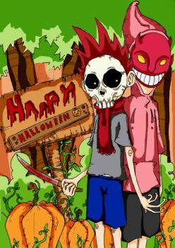 lbackfromthedeadl 6 0 dont you luv halloween d by yusuyoshi sano - I Luv Halloween Manga