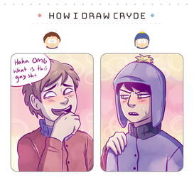 How I draw Cryde by graffiti-flower