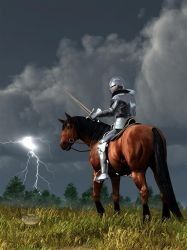 Sir Lightning Rod by deskridge