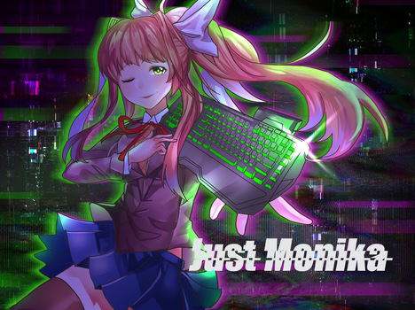 Commission Just monika by zeneria29