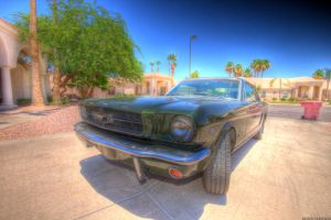 1965 Mustang Coupe by derek150