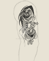 Start of arm sleeve commision by mezwik