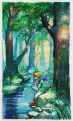 Hyrule Forest by Qinni