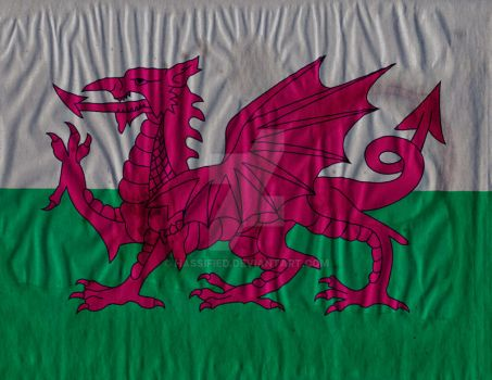 Welsh Flag by hassified