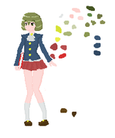 Pixelart: First try by Hirotaka666