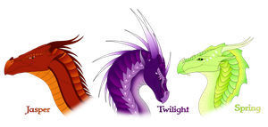 Wings of Fire Hybrid OC Sale 1 [ALL SOLD] by xTheDragonRebornx