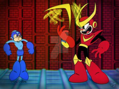 Draw Mega Man Day 2018 by The-Letter-W