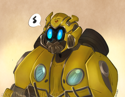 Bumblebee Cute by AXEL464