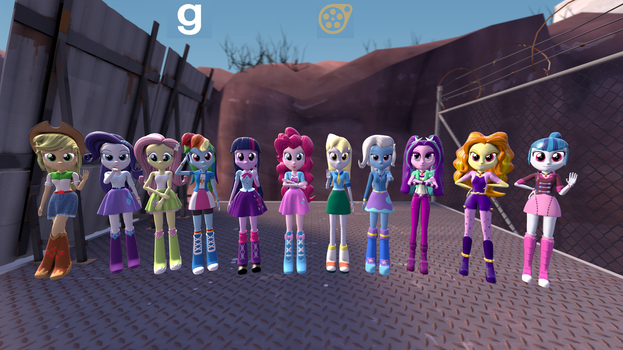 Equestria Girls 2.7 by Stefano96