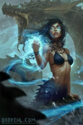 Spirit of the sea witch cover by BobKehl