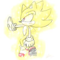 Super Sonic! by sarahlouiseghost