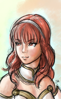 Celica - Fire Emblem Echoes by itftjte