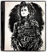 Inktober 2017 #11 - Edward Scissorhands by B3NN3TT