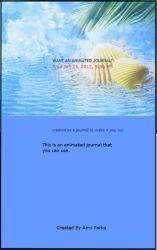 ANIMATED SEASHELL JOURNAL SKIN by Aim4Beauty