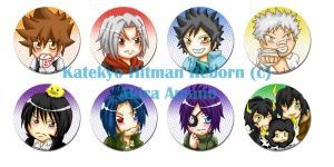 Buttons :: Vongola Family by khiro