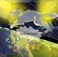 Snowfur's Death (Warrior Cats) by WarriorCat3042