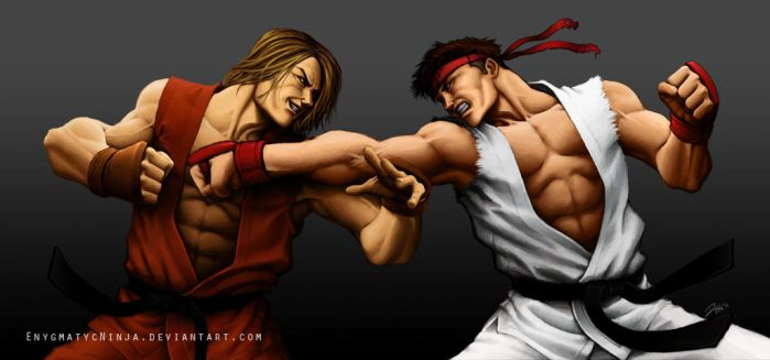 SF4: Back At It Again by EnygmatycNinja