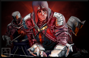 Red Templars by AuriV1