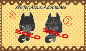 Anubis Adopt Set 1 (CLOSED TY) by Neopalitan