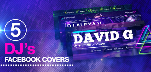 Facebook Covers for Djs and Music Producers by LouisTwelve-Design