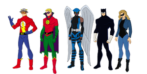 My Dc Reboot Earth 2 Lineup 1 by jsenior