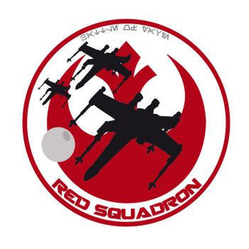 Red Squadron unit patch by Imperial70