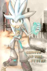 Ghost of the Future .:Silver:. by QTStartheHedgehog