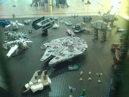 Lego Star Wars starships 3 by V-kony