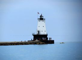 Ludington North Breakwater Light-L- by Foozma73