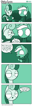 Silly Lyra - Deep Thoughts by Dori-to