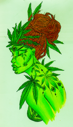 Ganja Queen by summeranime123