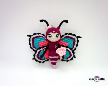 Peanut the Butterfly by Crocsbetty