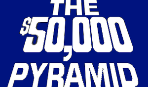 The $50,000 Pyramid Logo by mrentertainment