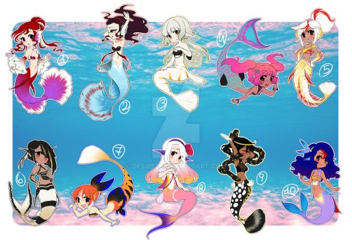 MerMay Adopts (CLOSED) by DesireeU