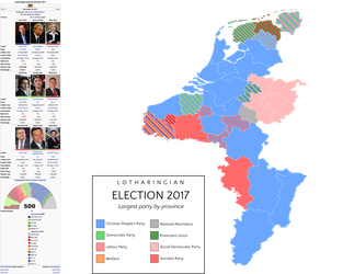 Lotharingian General Election 2017 by HouseOfHesse