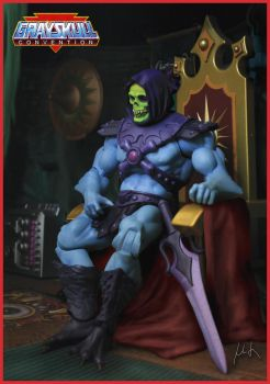 MOTU - Skeletor - Lord of destruction! by McMuth