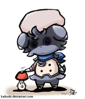 Touch Detective - Espurr and Foongus