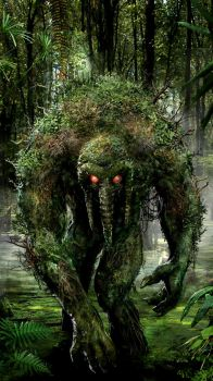 Man Thing by uncannyknack