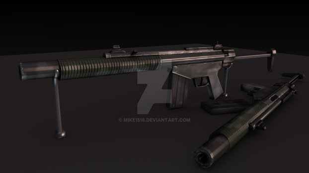 Colonization - N-97 Assault Rifle by Mike1518