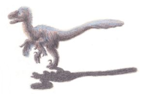 Cayro the Deinonychus by Agahnim