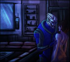 Commission: Garrus Andromeda by Gone-Batty