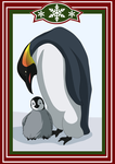 Advent Calendar|Day 18. Emperor Penguin by Lounabis