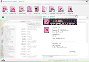 WinRAR Theme by feelingpurplish