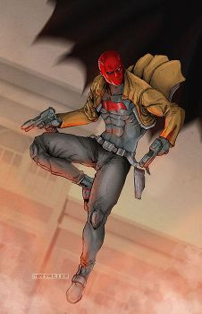 Red Hood - Jason Todd by theresamelo