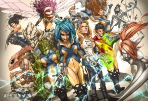 The New X-Men by daguillo84