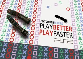 PS2 FINGER PLUGINS by minimalminds