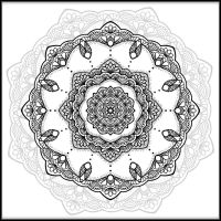 Mandala 003 by Marce3