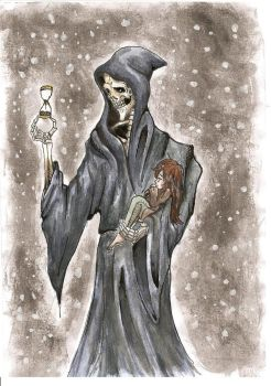 Death and the matchstick girl by sam-the-despoiler