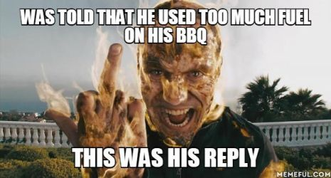 The BBQ expert by Agirlwholovesmemes
